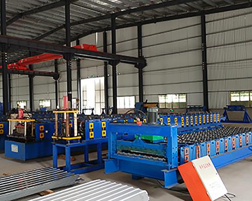 楼承板生产线设备